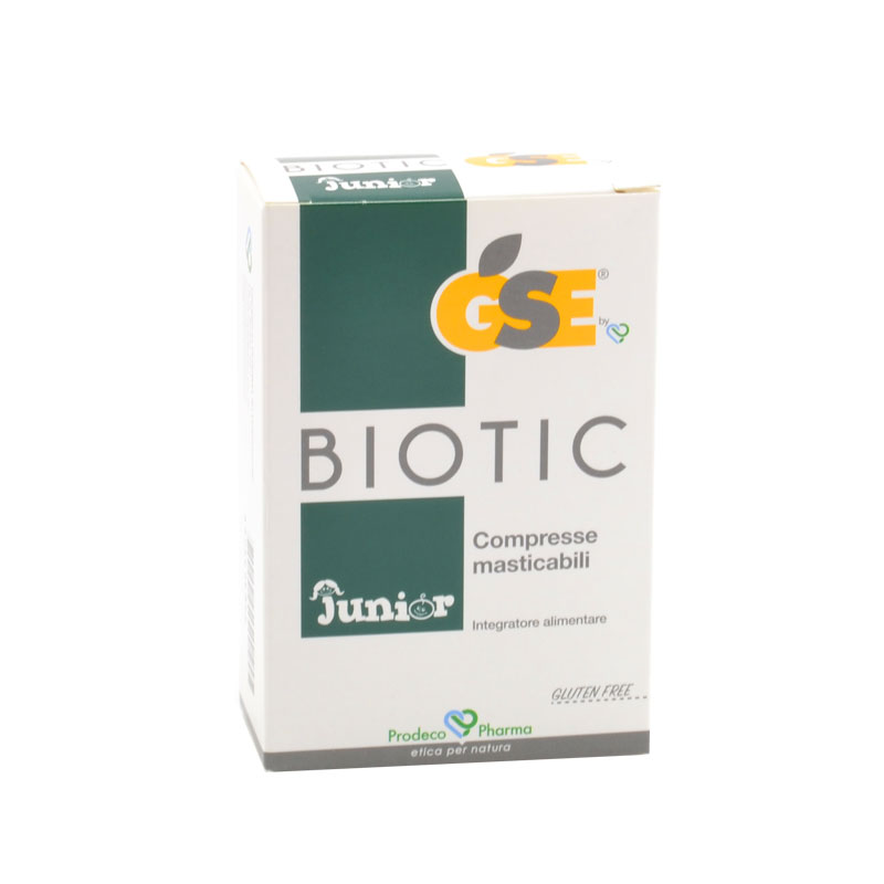 gse biotic junior compresse masticabili